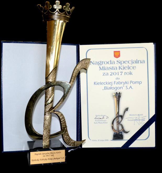 Nagroda specjalna miasta Kielc 2017